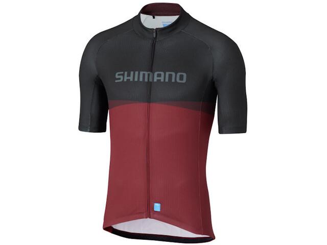 Shimano Shimano Team SS Jersey Men, red